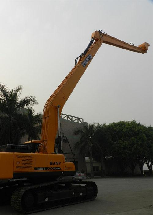 Sany SY365C Excavator Long Reach Boom Arm 18 Meter with 0 7