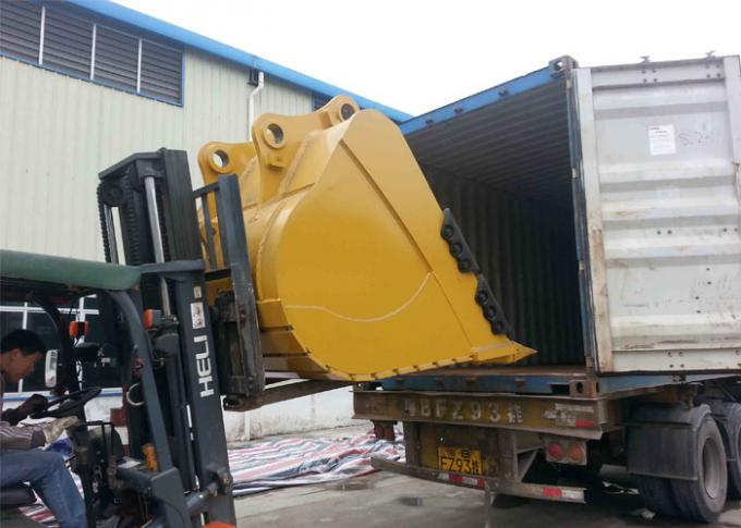 High Performance Tilting Excavator Bucket Cleaning Hard Soil Wear Resistance