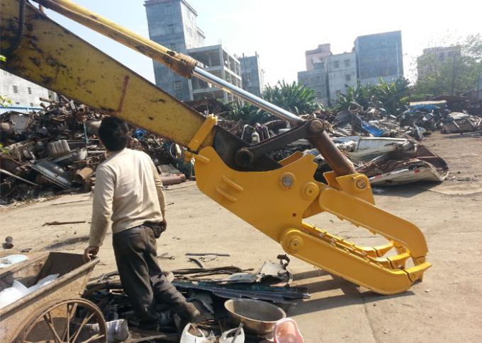 Self Linked Mechanical Excavator Log Grapple With CE Approved