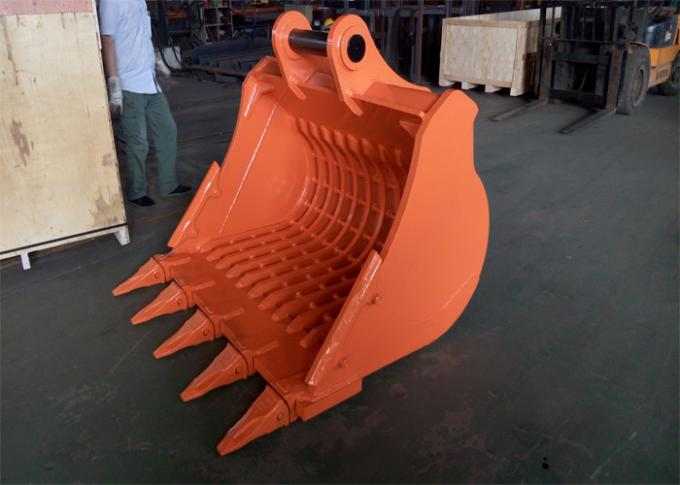 Long Durability Hardox450 Skeleton Rock Bucket for Hitachi ZX350 Excavator