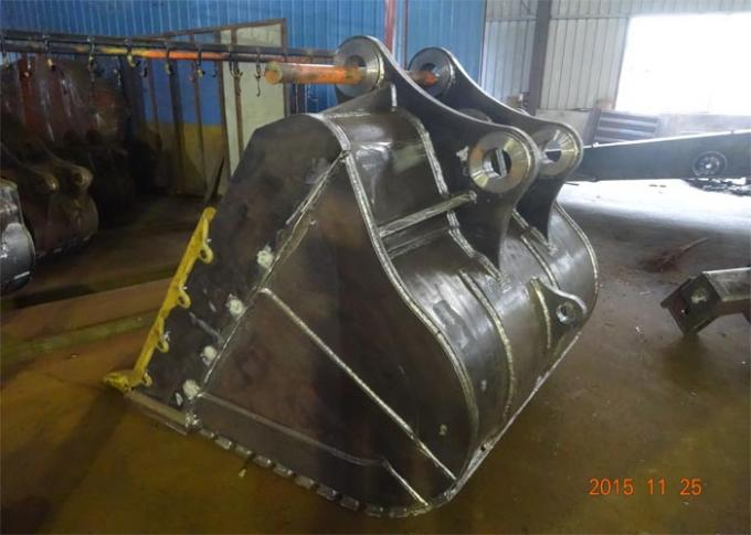 Professional DH380 Excavator Rock Bucket , Heavy Equipment Buckets