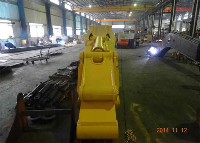 Heavy Duty Excavator Long Boom / Excavator Extension Arm 8900mm Length 7600KG
