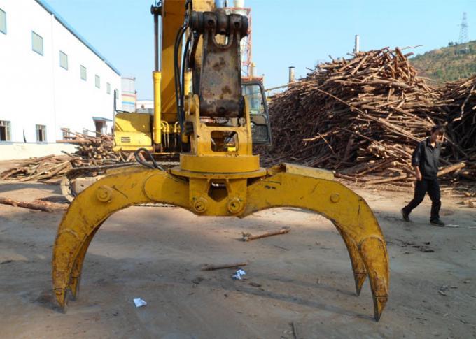 Rotate Wood / Timber / Log Grapple for Komatsu PC200 excavator