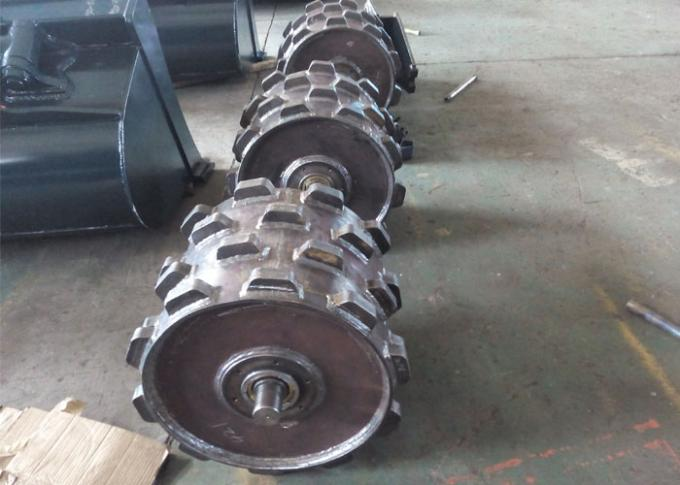 Komatsu PC200 Excavator Compaction Wheel With Roller Bearing