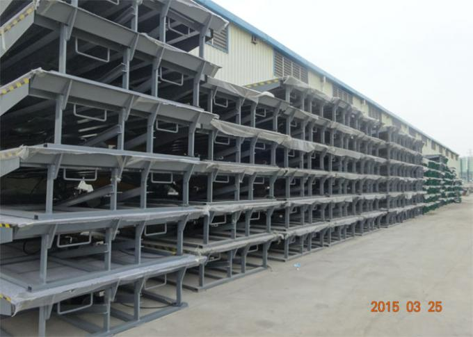 Single Cylinder Hydraulic Dock Levelers For Sea Port Physical Distribution