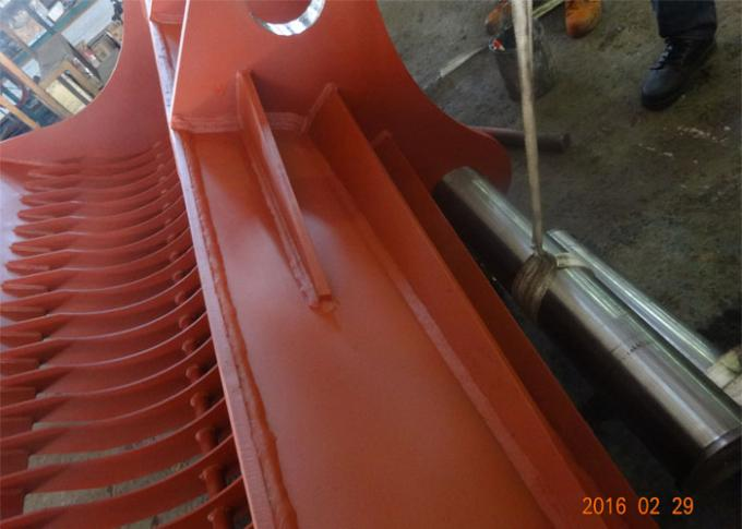 Heavy Duty Dredging Sea Excavator Sieve Bucket Capacity 3.7 Cum