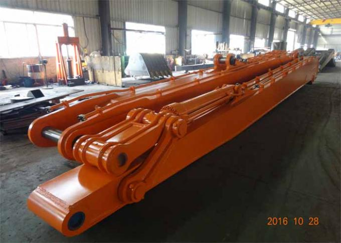 Heavy Duty Excavator Long Reach Arm for EX1200-5 With 28 Meters And 6 Ton Counter Weight