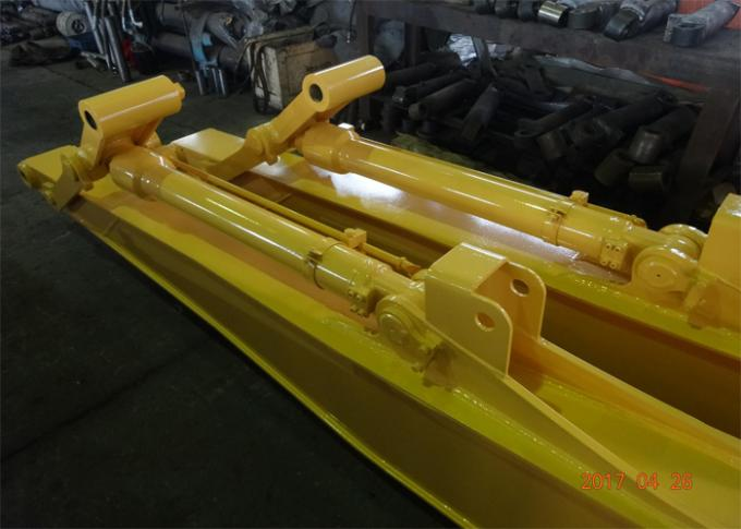 Yellow Excavator Long Reach Boom for Komatsu PC240 Total 18 Meters Length