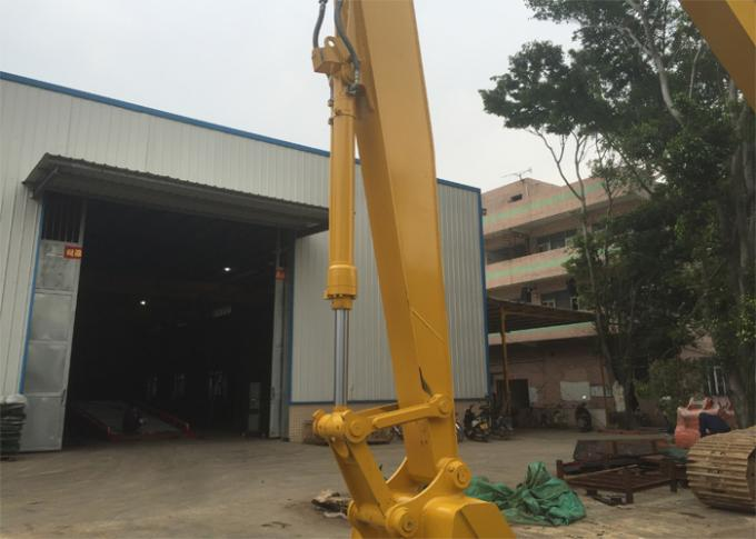 High Security Excavator Long Boom For Komatsu PC350 With 21 Meters And 4 Ton Counterweight