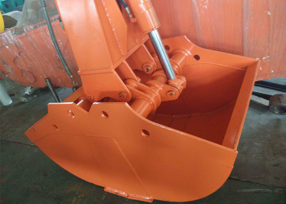 China Rotating Excavator Grapple Clamshell Grapple  for Hitachi ZX200-3 Excavator supplier
