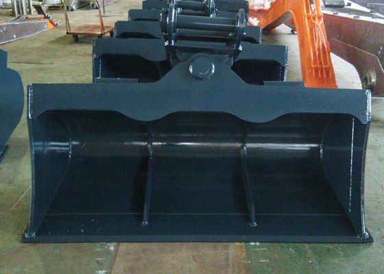China 4T - 30 Ton Digger Tilt Buckets For Excavators Tilting Grading Buckets supplier