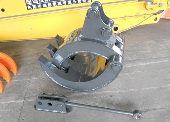 China YANMAR Vio55 Excavator Grapple Support Rod Quick Hitch Joint Design supplier
