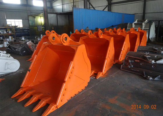 V Shaped Grid Mining  Excavator Rock Bucket Ditch Cleaning Buckets