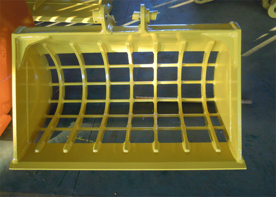 China ISO Approved Skeleton Bucket For Excavator Ditch Cleaning Bucket supplier