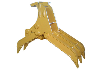 China Self Linked Mechanical Excavator Log Grapple With CE Approved supplier