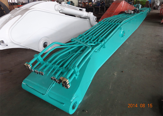 China Kobelco SK480 Excavator Demolition Boom With 25 Meters 6 Ton Counter Weight supplier