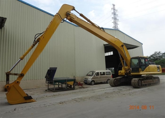 China Komatsu Excavator Parts 22 Meters Long Reach Boom with 4 Ton Counter Weight supplier