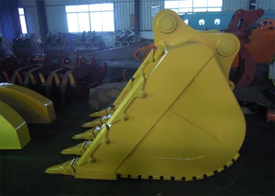 China Professional DH380 Excavator Rock Bucket , Heavy Equipment Buckets supplier
