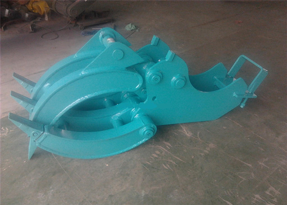 China Mechanical Wood Grapple Log Grapples for Excavators Kobelco SK80 supplier