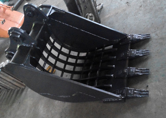 China 0.5 Cum Komatsu Excavator Skeleton Bucket With Heavy Duty Interlocking Ribs supplier