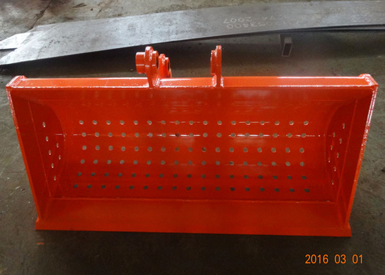 1500mm wide Grating / Skeleton / Sieve Bucket for Doosan DX75