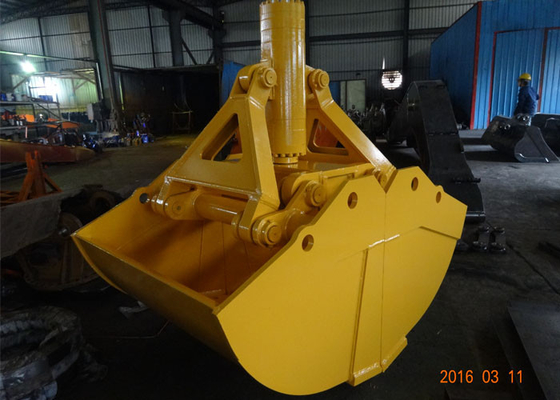 China One Cylinder Clamshell Bucket , Komatsu PC360 Telescopic Boom Grapple Bucket supplier