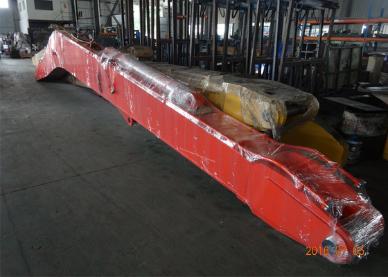 China Daewoo DH280 16 Meter Special Shape Long Reach Boom With Clamshell Bucket supplier