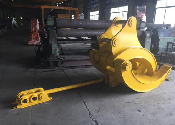 China Mechanical Big Excavator Grapple For Komatsu PC340 and PC450 Heavy Duty supplier