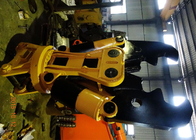 China Cat Pillar 330 Excavator Rotate Demolition Shears / Crusher / Pulveriser factory