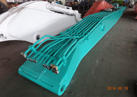 China Kobelco SK480 Excavator Demolition Boom With 25 Meters 6 Ton Counter Weight factory