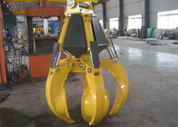 China High Efficient Orange Peel Electro Hydraulic Grabs 17 Ton - 23 Ton factory