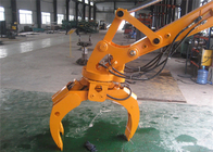 China Komatsu PC120 12ton Excavator Grapple Attachments Log Loader Grapple factory