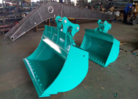 China Heavy Duty 20ton Excavator Tilting Ditching Bucket with Bolted Cutting Edge factory