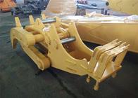 China Komatsu PC230 7 Tooth Rotating Log Grapple / Log Grab for Excavtor 23 Ton factory