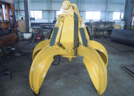 China No Rotate Hydraulic Orange Peel Grab Bucket for CAT320 Excavator factory