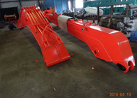 China 18 M Doosan DX300 Excavator Long Reach Boom With 0.5 Cum Bucket / Auxiliary Pipe factory