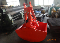 China Non Rotate Clamshell Excavator Grapple Bucket For Daewoo DH280 Long Reach Excavator factory