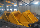 China Crawle Excavator Skeleton Bucket With Capacity 1.7 CBM 6 Months Warranty factory