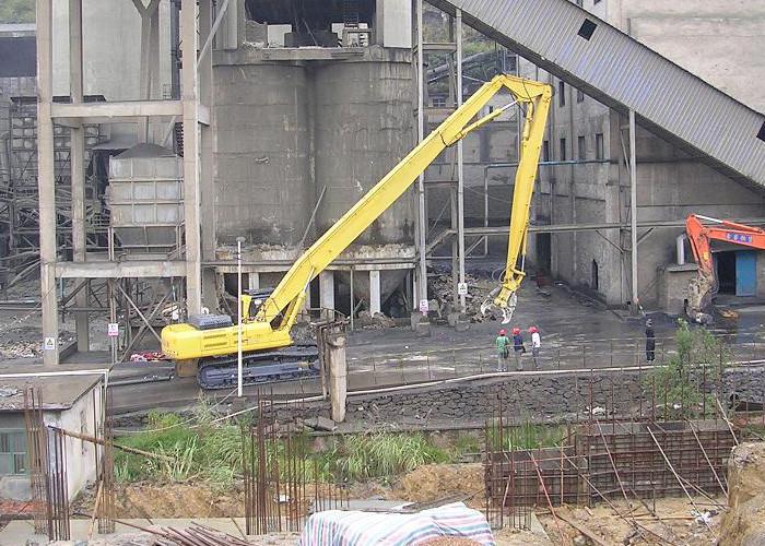High Performance Demolition Boom , Komatsu Excavator Parts