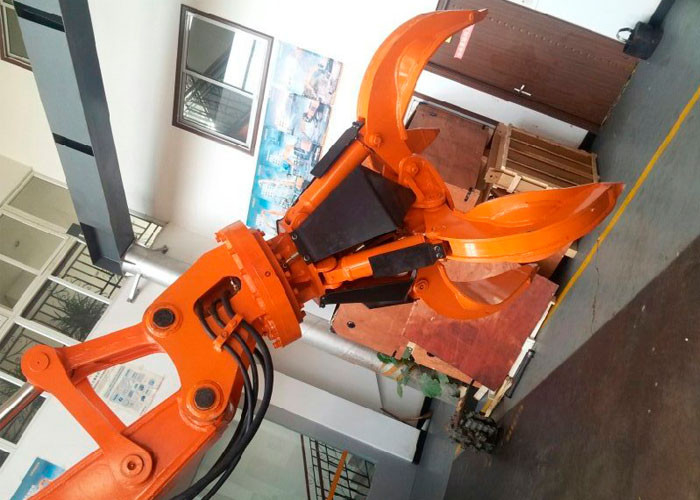 ISO Certified Electric Orange Peel Grab , Steel Orange Peel