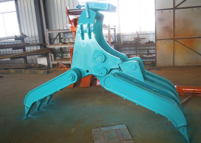 Wide Design Mechanical Grapple / Grab for Kobelco SK200