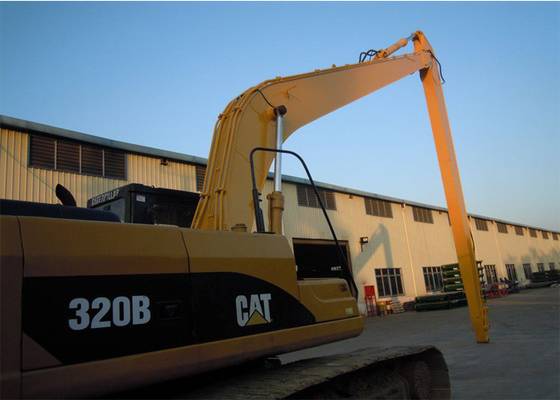 China High Performance Excavator Long Reach , CAT Yellow High Reach Arm distributor