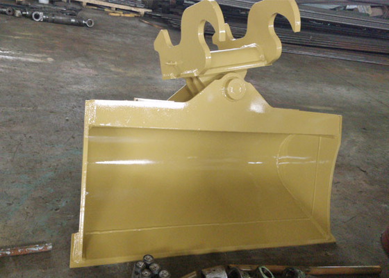 China Special Ears Excavator Tilt Bucket / Digger Buckets with Mechanical Quick Coupler distributor