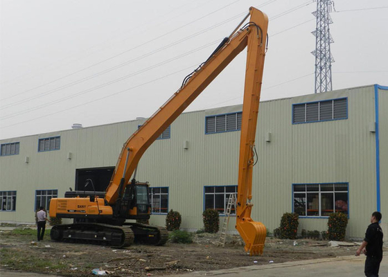 China Sany SY365C Excavator Long Reach Boom Arm 18 Meter with 0.7 Cum Bucket distributor