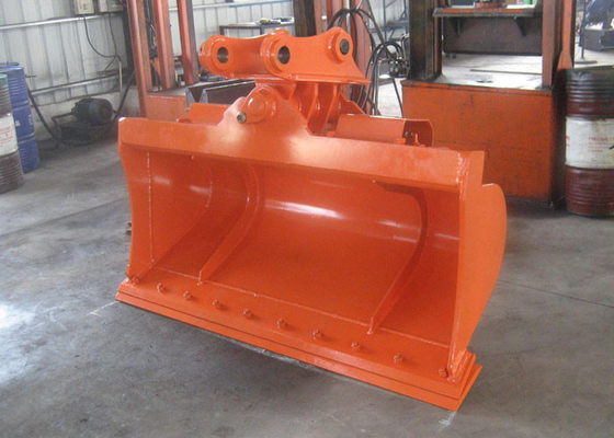 China High Efficiency Hitachi ZX120 Excavator Tilt Bucket With Bolted Cutting Edge distributor