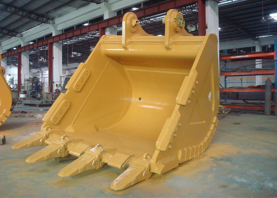 China Reinforced 5.2 CBM Excavator Rock Bucket for CAT385 Excavator distributor