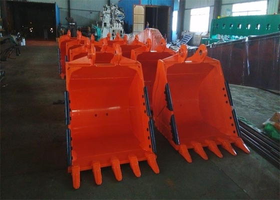 China OEM / ODM Excavator Hitachi Rock Bucket For Excavator 1200MM distributor