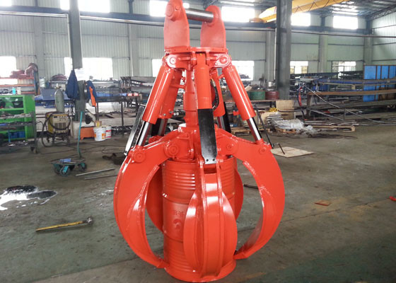 China Personalized Hydraulic Orange Peel Grapple for Doosan DX260 Excavator distributor