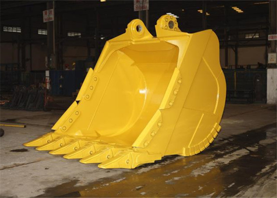 China Hardox450 Komatsu Excavator Rock Bucket for Mining Condition distributor