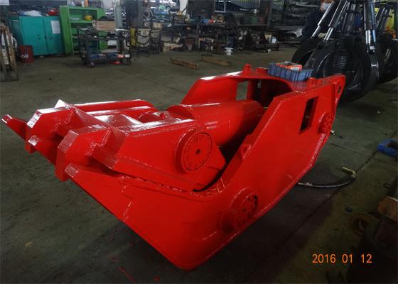 China HARDOX450 Hydraulic Demolition Shears for 20 Ton - 30 Ton Excavator distributor